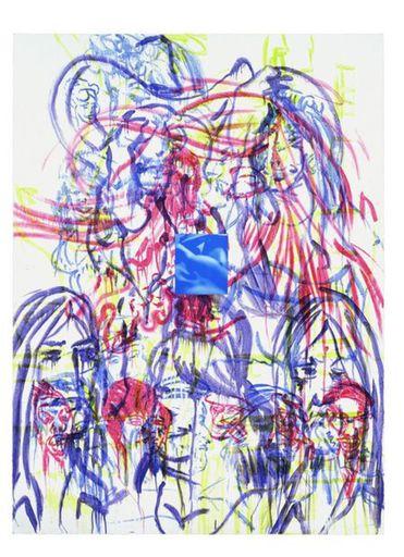 David SALLE - Print-Multiple - Theme from an Aztec Moralist II