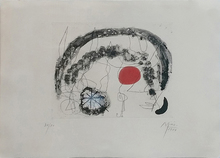 胡安·米罗 - 版画 - SERIES III, PLATE 5