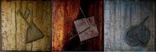Patrick Victor DOPPAGNE - Peinture - Need Interior (Tryptique)