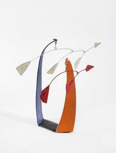 Alexander CALDER - Escultura - Red Flags, White Flags
