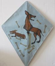 Francisco TOLEDO - Peinture - Abstract dog kite