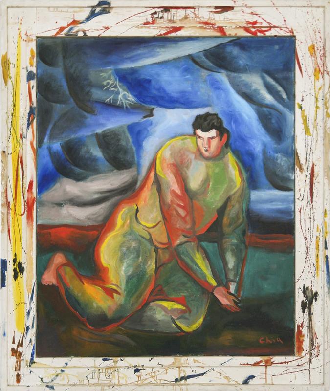 Sandro CHIA - Painting - senza titolo