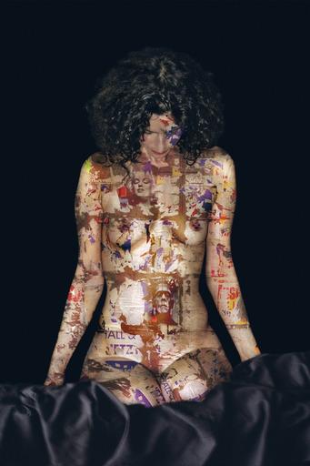 Yves HAYAT - Grabado - MADONE Déchirée