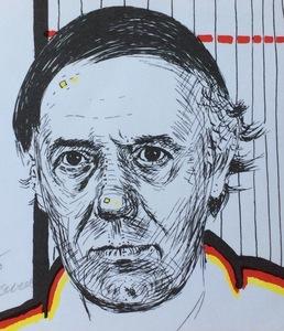 Roger RAVEEL - Stampa-Multiplo - Auto  portrait