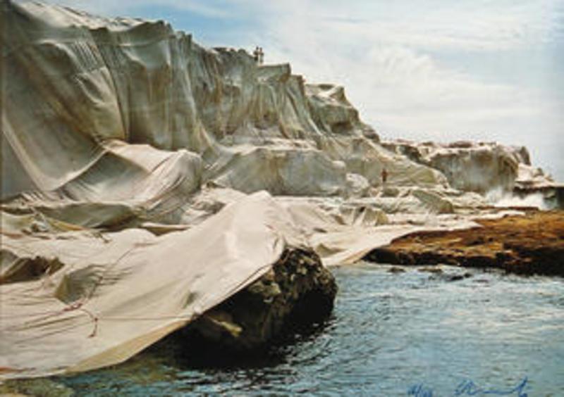 CHRISTO - Print-Multiple - Wrapped Coast: Little Bay, Australia, 1969