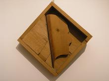 Mario CEROLI - Escultura - Ritratto di Alberto Moravia
