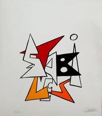 Alexander CALDER - Print-Multiple - Derriere le miroir