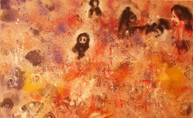 Mounya KECHA - Pintura - Sans titre    (Cat N° 6004)