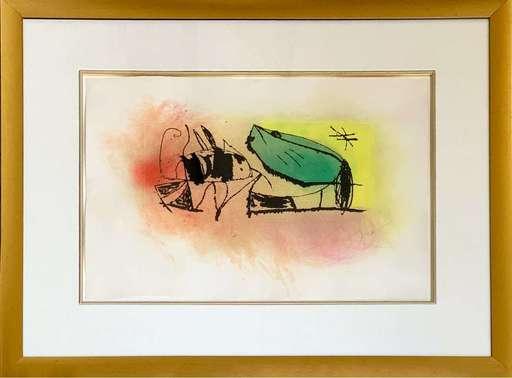 Joan MIRO - Grabado - Les Scarabees