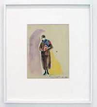 """Sonia DELAUNAY-TERK (1885-1979) - Projet d'écharpe """"N. 528"""""""