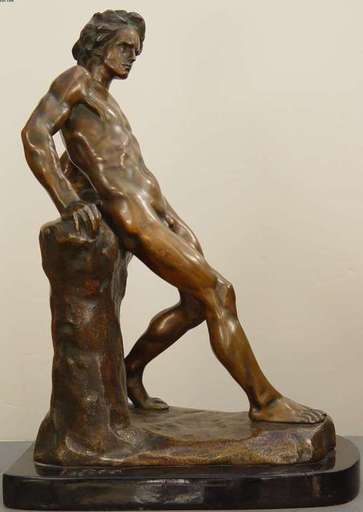 Victor ROUSSEAU - Sculpture-Volume - Relaxed Nude