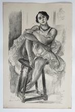 亨利·马蒂斯 - 版画 - Danseuse Assise au Tabouret...