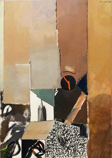 Josep GUINOVART - Pintura - New York II