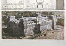 克里斯托 - 版画 - Wrapped Reichstag XXII Berlin