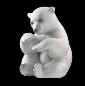 Michel BASSOMPIERRE - Sculpture-Volume - Boule de Neige
