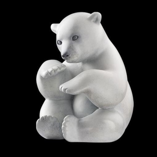 Michel BASSOMPIERRE - Skulptur Volumen - Boule de Neige