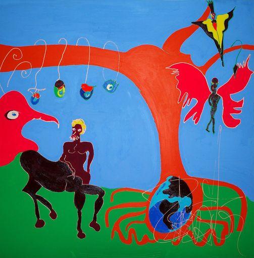 Isa SATOR - Painting - Le Meilleur des Mondes    (Cat N° 6746)