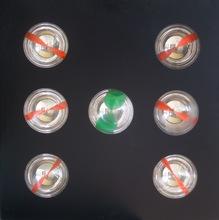 Franco COSTALONGA - Sculpture-Volume - Oggetto cromocinetico