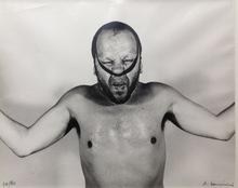 """Arnulf RAINER - Photography - o. T. (Selbstbildnis aus der """"Gummiserie"""")"""