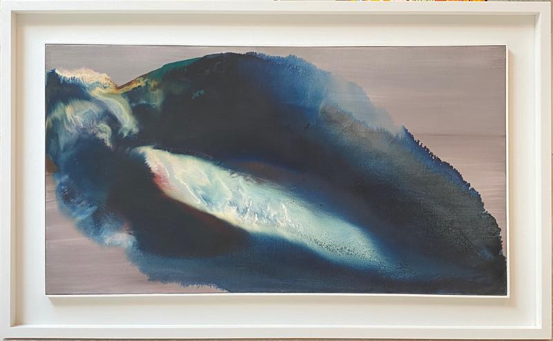 Paul JENKINS - Painting - Phenomenon off island of the sun