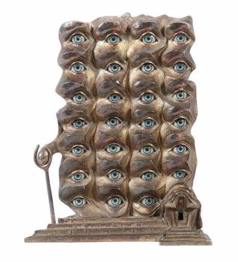 Salvador DALI - Sculpture-Volume - Surrealiste Eyes