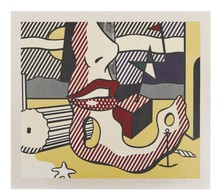 Roy LICHTENSTEIN - Print-Multiple - A Bright Night