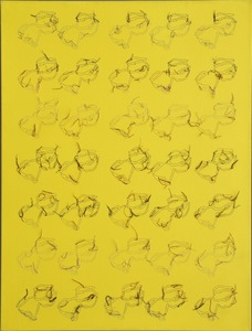 Ghada AMER - Painting - Bouches