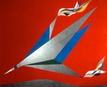 Roberto Gaetano CRIPPA - Pintura - Concorde