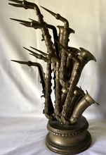 Fernandez ARMAN - Sculpture-Volume - Saxophones epreuve