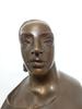 Giuliano VANGI - Sculpture-Volume - Ragazza con ampio vestito