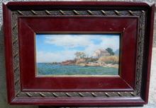 Théophile Paul Marie BÉRENGIER (1851-1928) - bord de mer provençal
