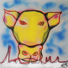 Mounya KECHA - Dessin-Aquarelle - No Title    (Cat N° 6360)