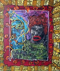 Robert COMBAS - Pintura - Sans titre
