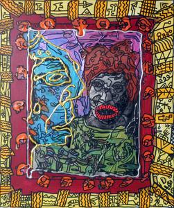 Robert COMBAS - Peinture - Sans titre
