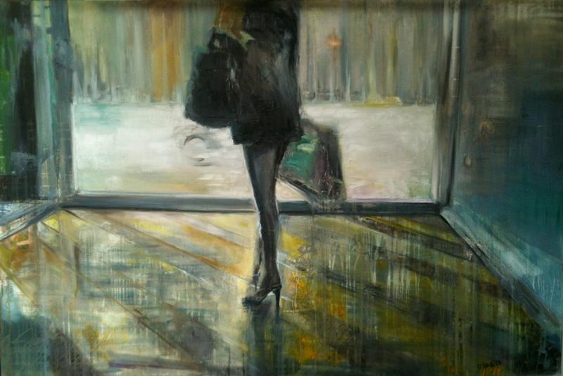 Violetta MALATERRE - Gemälde - Exit 2
