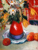 Levan URUSHADZE - Painting - Still life with peaches