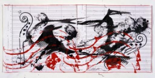 Fernandez ARMAN - Disegno Acquarello - Sentinelle