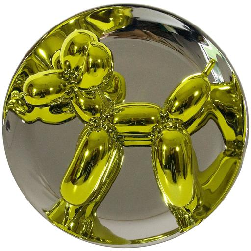 Jeff KOONS - Céramique - Balloon Dog (Yellow)