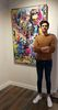 Cédric BOUTEILLER - Painting - PInk Charlie Dali