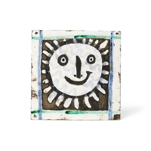 Pablo PICASSO - Keramiken - Visage solaire IV