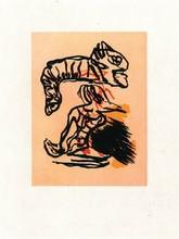 Karel APPEL - Print-Multiple - Salto sobre la cabeza