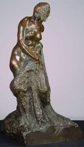 Ladislav SALOUN - Sculpture-Volume - Nude Bather