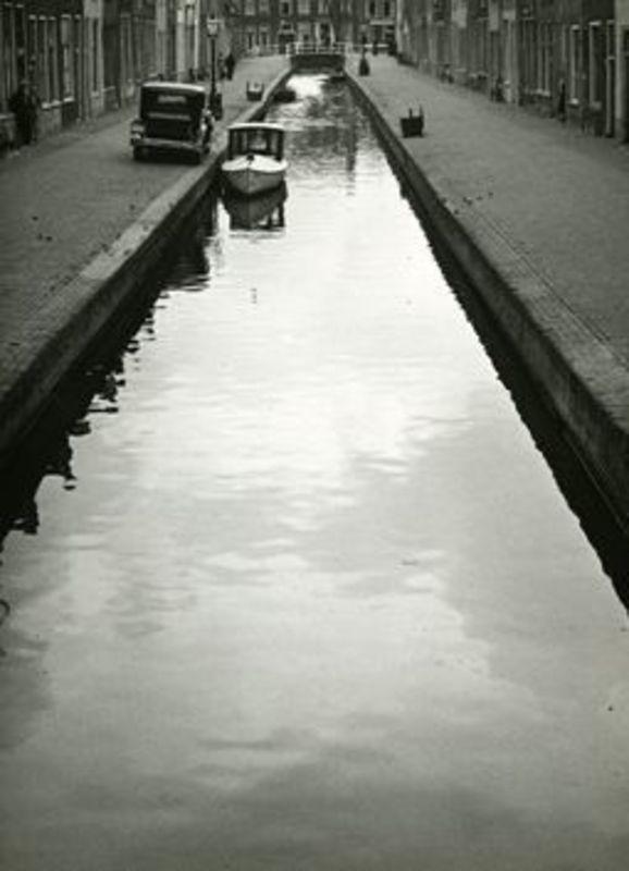 Hans BAUMGARTNER - Fotografie - Stadtkanal in Holland