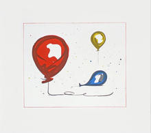 Claes Thure OLDENBURG - Grabado - Balloons