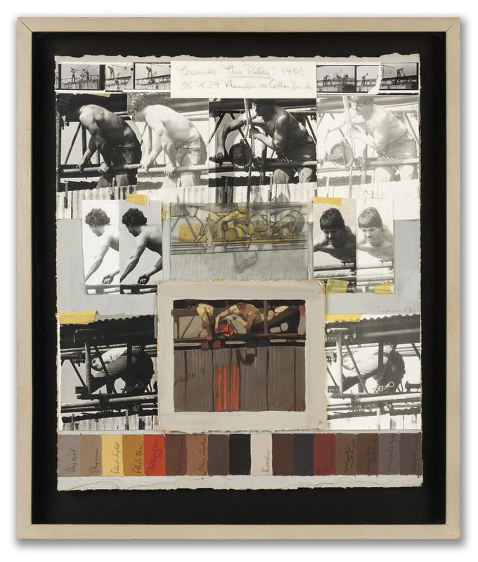 Michael LEONARD - Pittura - Towards: The Pulley