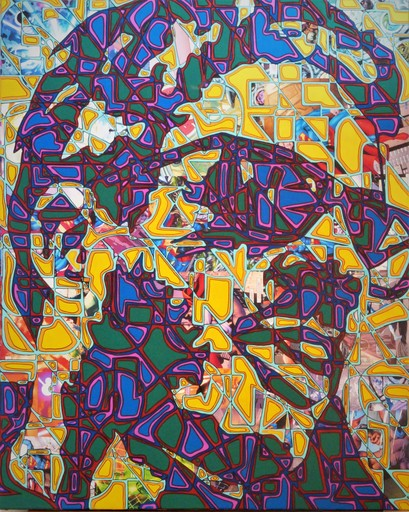 Christophe STREICHENBERGER - Painting - The Bradbury Man