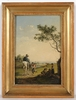 "Painting - ""Road Scene"", Oil on Panel"