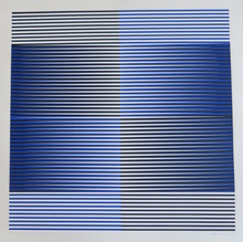 Carlos CRUZ-DIEZ - Grabado - Chromatic Induction 2,