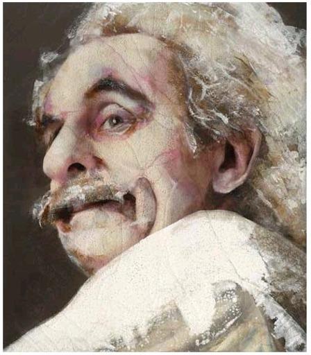 Lita CABELLUT - Peinture - Albert Einstein 02