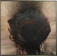 奥图•佩恩 - 绘画 - Feuer und Erde